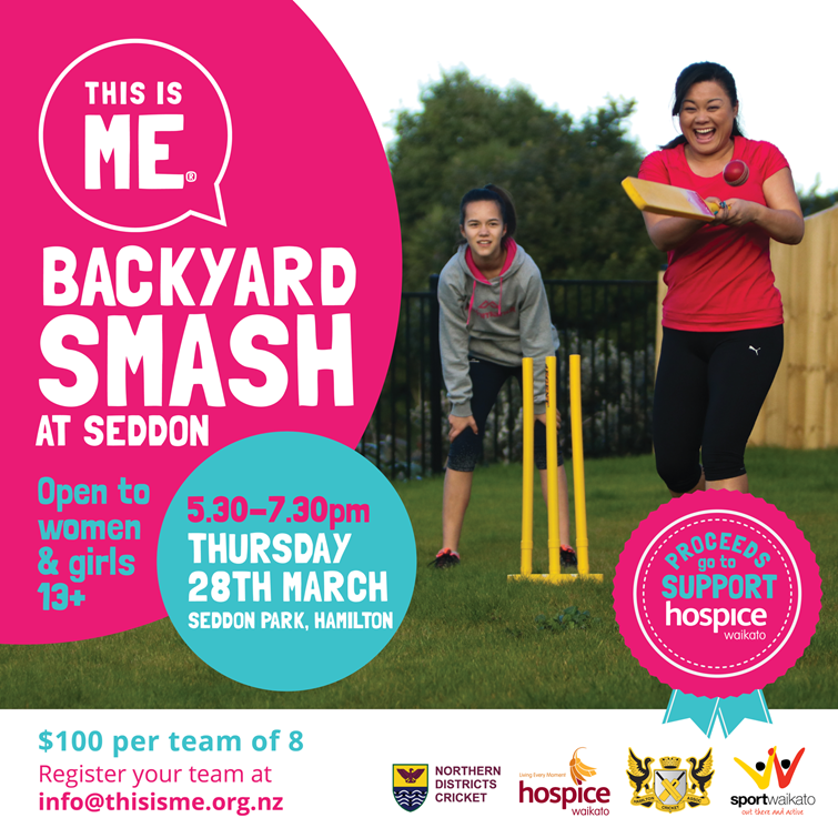 This is ME® Backyard Smash at Seddon Feature Image